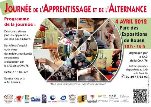Communication actualit s cma76 journ e de l - Salon de l alternance et de l apprentissage ...